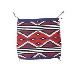 Navajo RARE Moki Pattern Wool Trade Rug