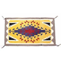Navajo Native American Ganado Rug; Nellie Becenti