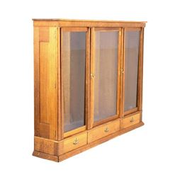 Helena, Montana Quarter Sawn Oak Cabinet 1885-1889