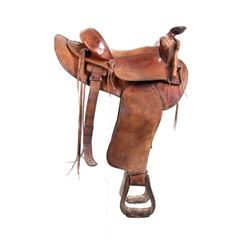 Simco Leather Company 501 Western Ranch Saddle