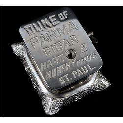 Duke of Parma Wind-Up Cigar Cutter