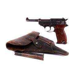 "World War II Nazi ""cyq"" Spreewerke P38 9mm Pistol"