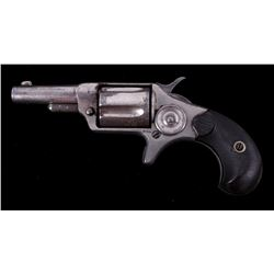 Colt New Line .32 RF Nickel Revolver c. 1882
