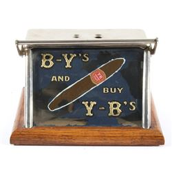 Y-B's Cigar Tip Cutter and Counter Top Advertising