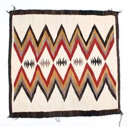 Navajo Native American Crystal Pattern Wool Rug