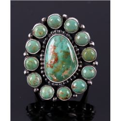 Navajo Royston Turquoise & Sterling Silver Ring