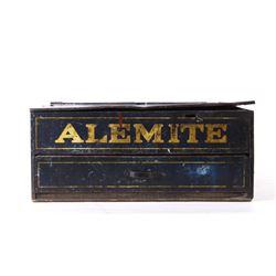Original Alemite Lubricant System Advertising Box