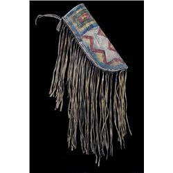 Sioux Polychrome Painted Parfleche Sheath