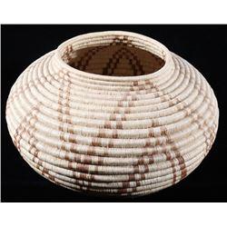 1950's Tarahumara Hand Woven Tight Coil Basket
