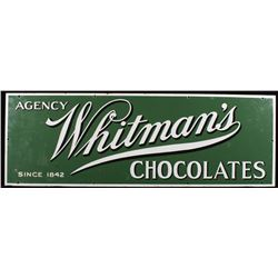 Whitman's Chocolates Porcelain Enamel Sign