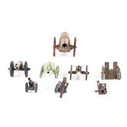 Collection of Assorted Generations of Cannon Toys