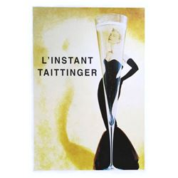 L'instant Taittinger Grace Kelly Poster