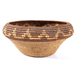 Pomo Native American Hand Woven Basket c. 1800's