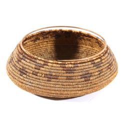 1800's Pomo Native American Hand Woven Basket