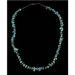 Navajo Turquoise Mountain & Heishe Shell Necklace