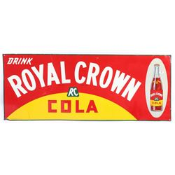 1936 Royal Crown Cola Embossed Advertising Sign