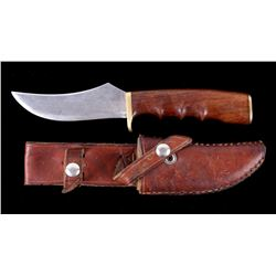 Custom Butte, Montana Knife & Leather Scabbard