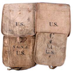 WWI U.S. Army and Cavalry Haversacks