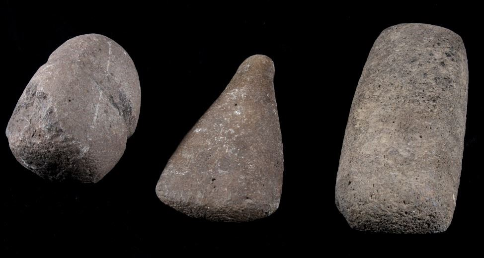 Ancient Native American Stone Tool Heads