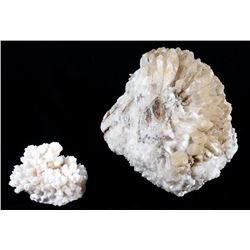 White Crystal Geode Formation Specimens