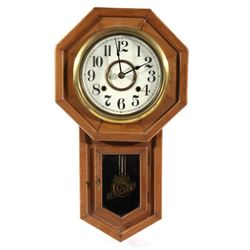 Antique Seikosha Regulator Wall Clock