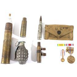 20th Century US Military Awards and Paraphernalia