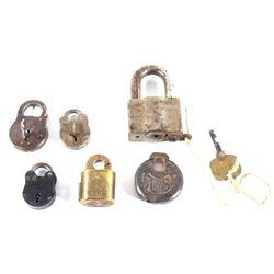 Antique Steel and Brass Locks