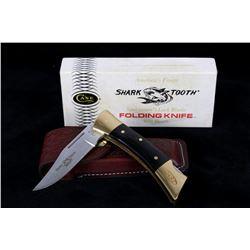 RARE 1985 CASE XX Shark Tooth Folding Knife