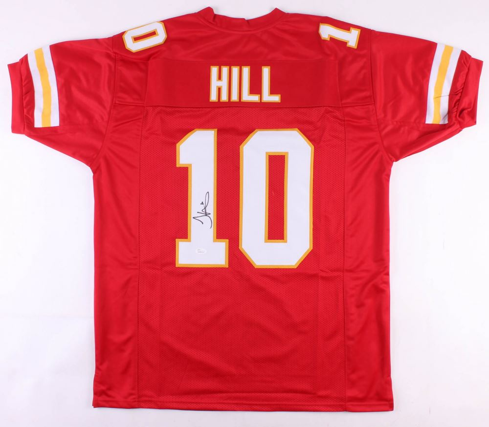 official photos 0f9c6 d3423 Tyreek Hill Signed Kansas City Chiefs Jersey (JSA COA)