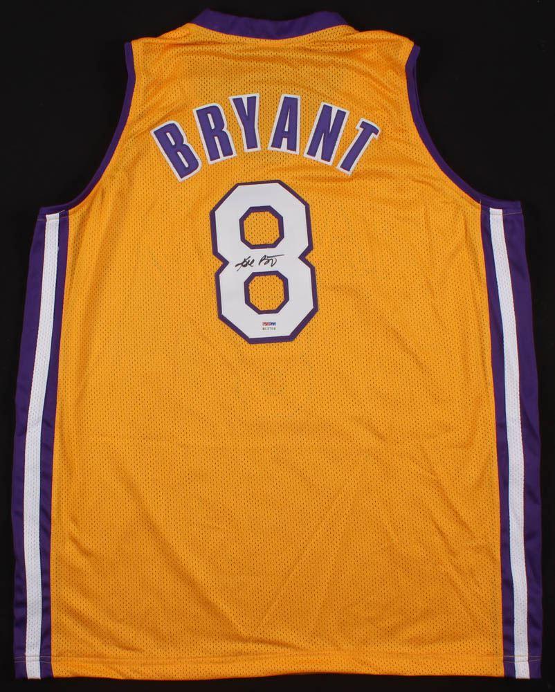 super popular af538 98819 Kobe Bryant Signed Los Angeles Lakers Jersey (PSA COA)