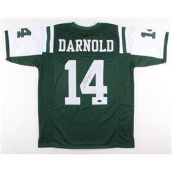 cheaper f92ca 3e859 Sam Darnold Signed New York Jets Jersey (Radtke COA)