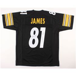 free shipping 6a482 ab03e Jesse James Signed Pittsburgh Steelers Jersey Inscribed ...