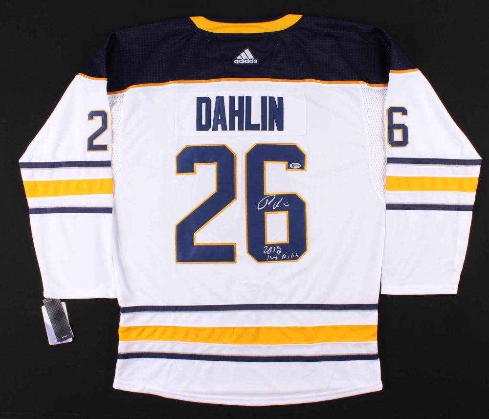 new concept 2f08e 2a78d Rasmus Dahlin Signed Buffalo Sabres Jersey Inscribed