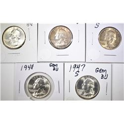 WASHINGTON QUARTER LOT: