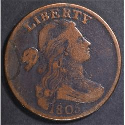 1805 LARGE CENT F/VF