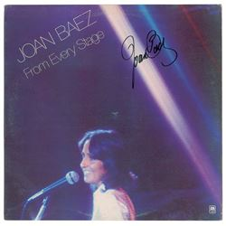 Joan Baez Signed Album