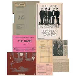 The Band 1971 Munich Concert Material