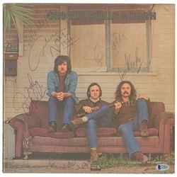 Crosby, Stills, and Nash Signed Album