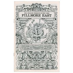 Woodstock: Jefferson Airplane and Joe Cocker Fillmore East Program