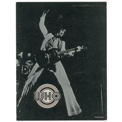 The Who 1971 US Tour Program