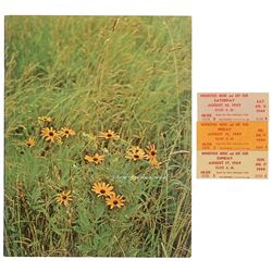 Woodstock Tickets (3) and Program