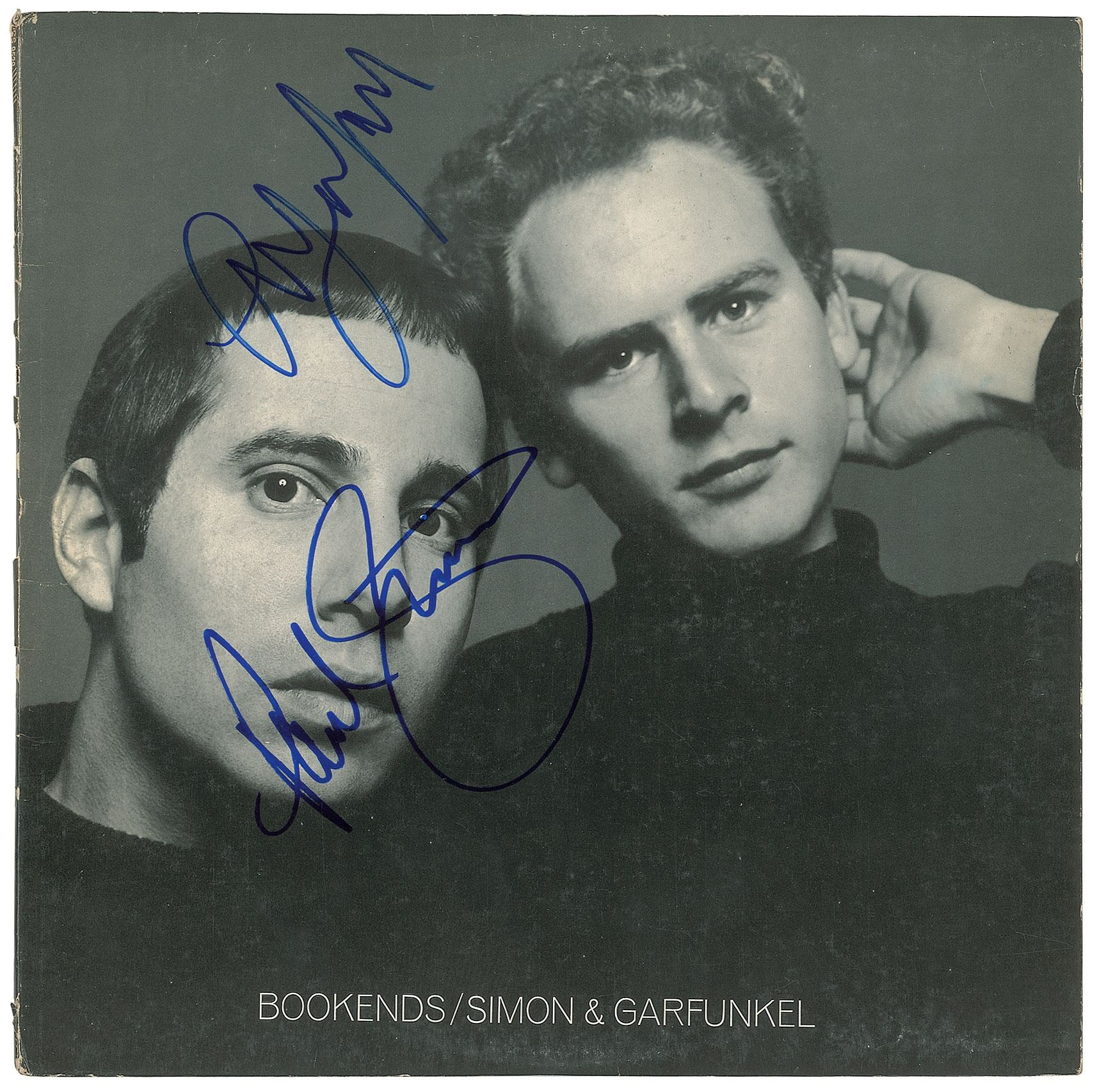 SIMON and GARFUNKEL signed autograph PHOTO DISPLAY Paul Simon Art Garfunkel