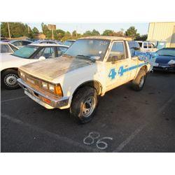 1983 Datsun 720 Pickup