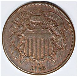 1865 TWO CENT