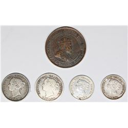 GROUP OF  CANADA COINS