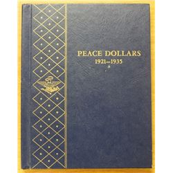 NICE COMPLETE PEACE DOLLAR SET