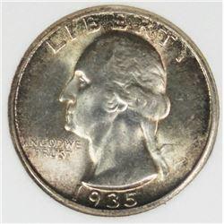 1935 WASHINGTON QUARTER