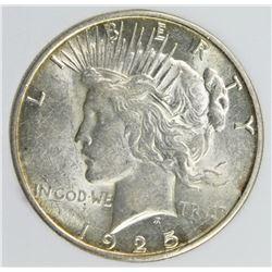 1925-S PEACE SILVER DOLLAR