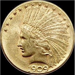 1909-D $10 GOLD INDIAN