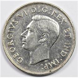 1947 CANADA HALF DOLLAR